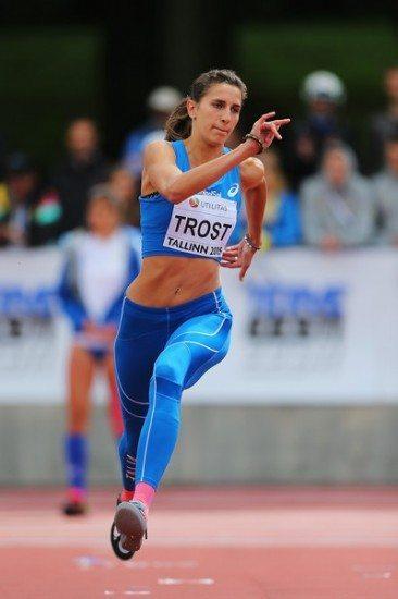Alessia Trost seconda a Madrid a pari misura della vincitrice con m.1,93