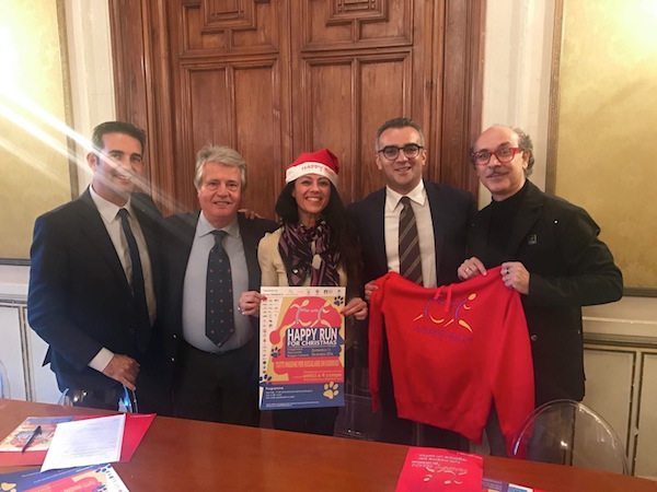 "Presentata la ""Happy Run for Christmas"" di Giusy Versace"