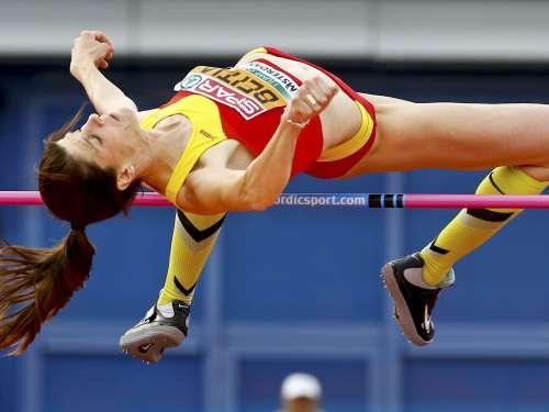 Ruth Beitia stabilisce la miglior prestazione mondiale nel salto in alto