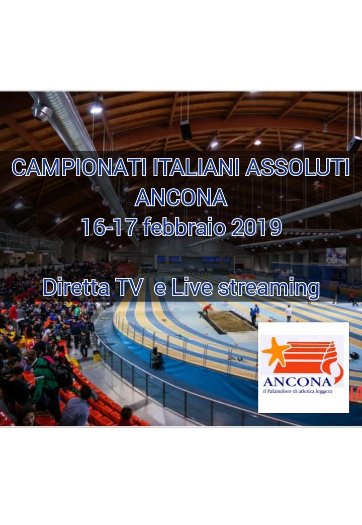 Assoluti Ancona: Partita la seconda giornata, orario, Iscritti e copertura TV