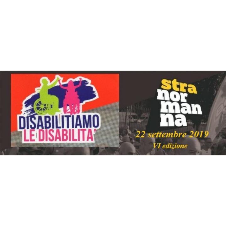 """VI STRANORMANNA """"Disabilitiamo la Disabilità�  AVERSA: si corrono dieci chilometri di valore."""
