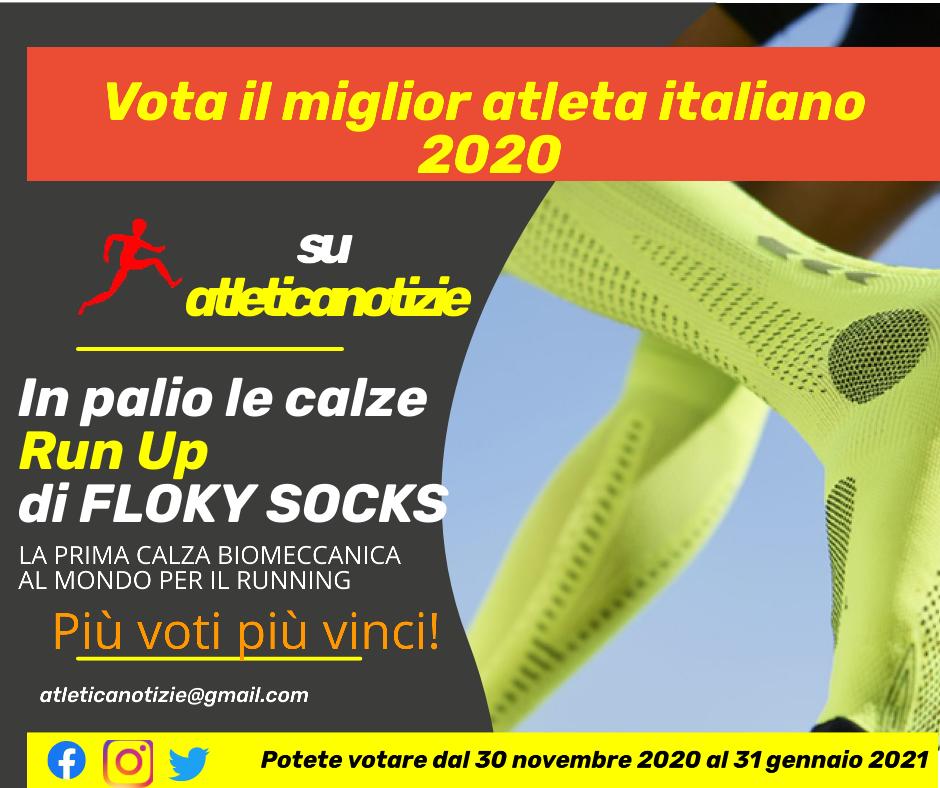"""""""Vota il miglior atleta italiano del 2020� su Atletica Notizie:  Assoluti, Master e tutte le categorie sotto i 23 anni"""