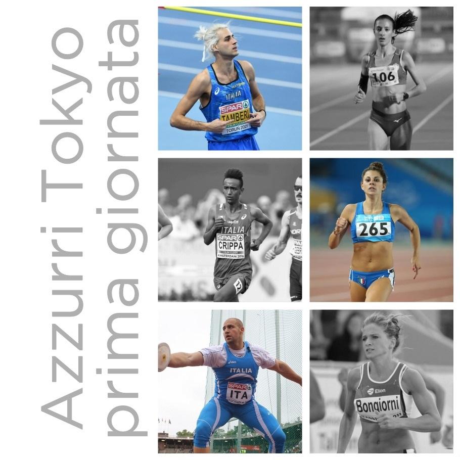 Olimpiadi Tokyo 2020: venerdi 30 luglio si parte! Sono 17 gli azzurri in gara