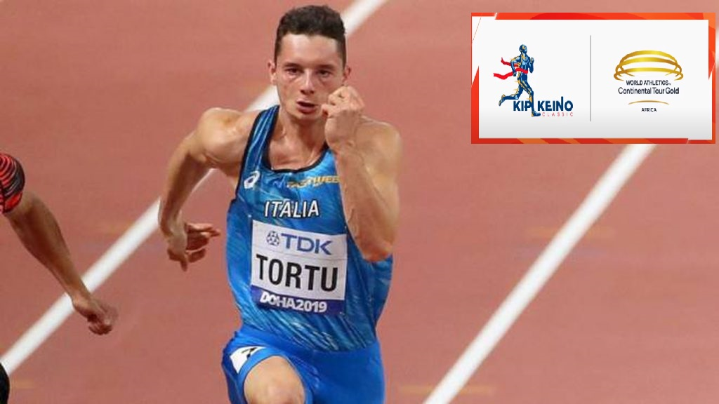Filippo Tortu oggi in gara nei 200 metri  a Nairobi- LA DIRETTA