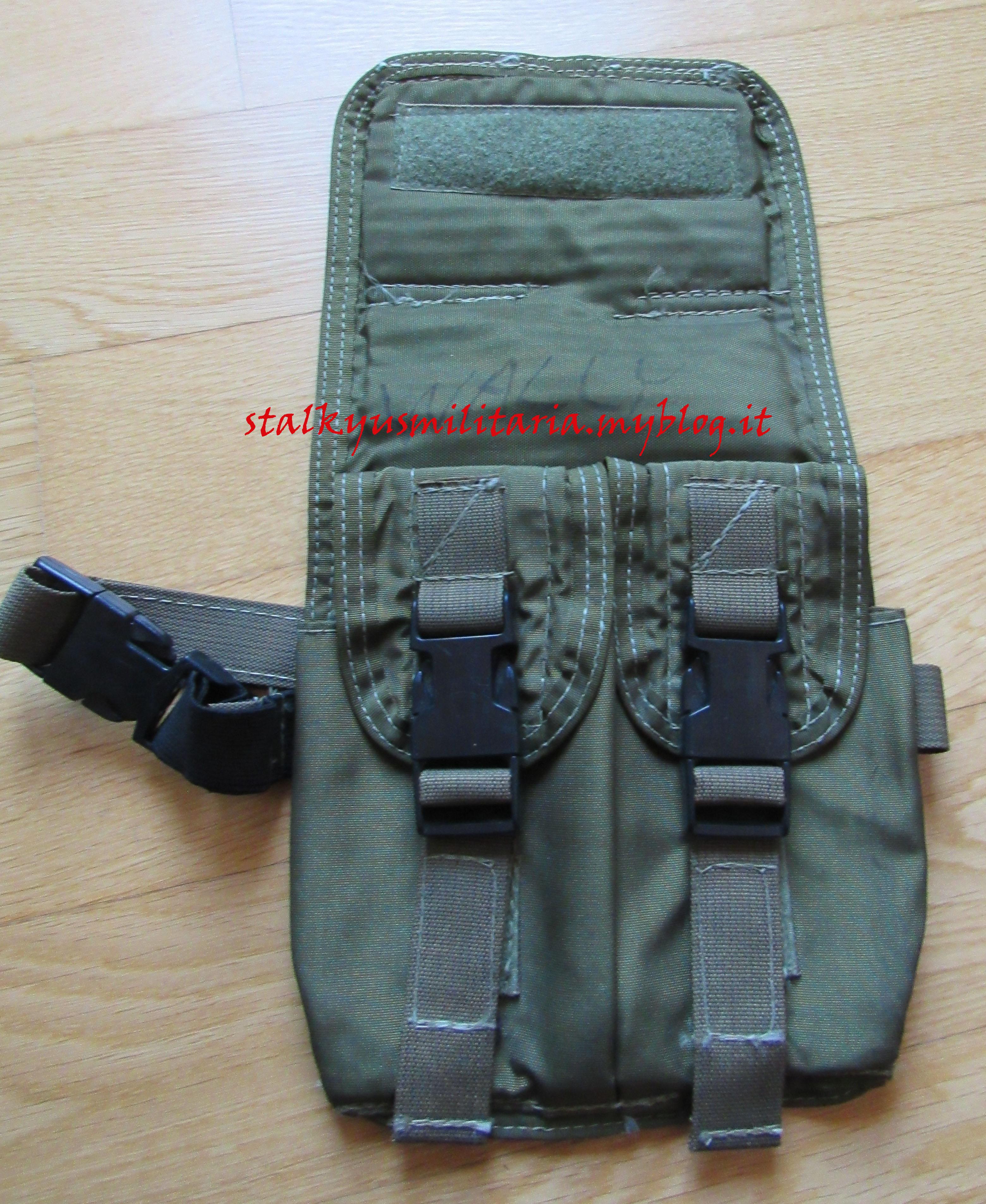 American Body Armor M14 Drop Leg Ammo Pouch OD