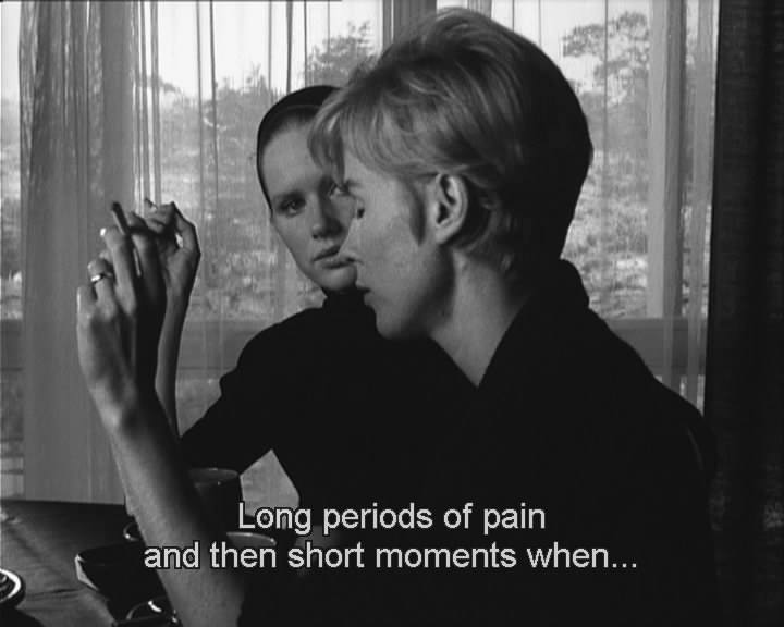 Persona, di Ingmar Bergman, commento breve di Biagio Giordano