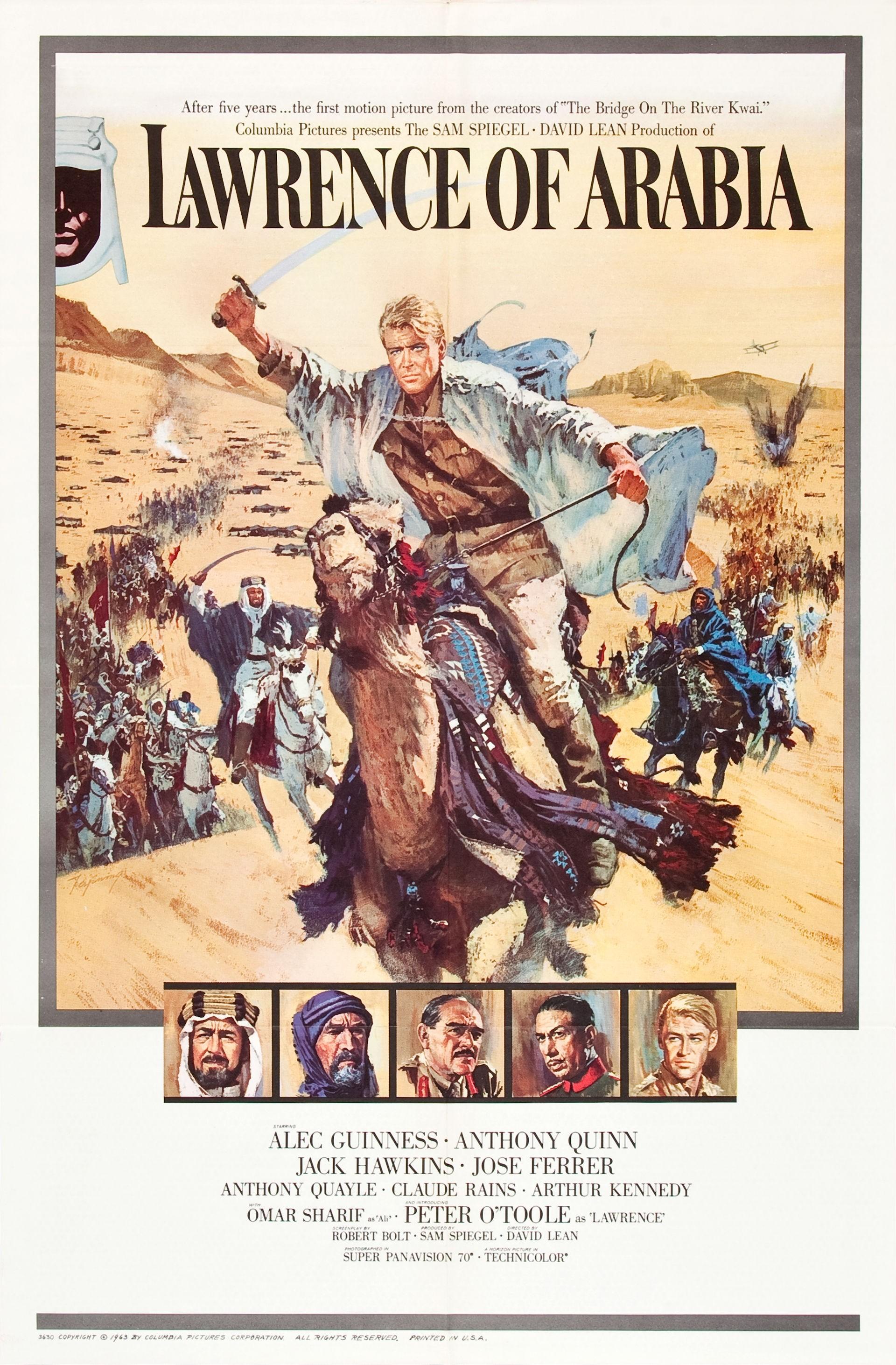 Lawrence d'Arabia, recensione di Biagio Giordano