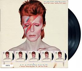 Le poste britanniche omaggiano David Bowie