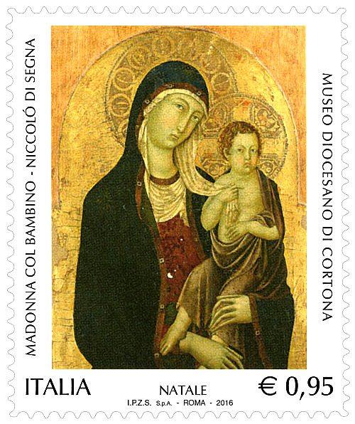 La Madonna col Bambino di Niccolò di Segna