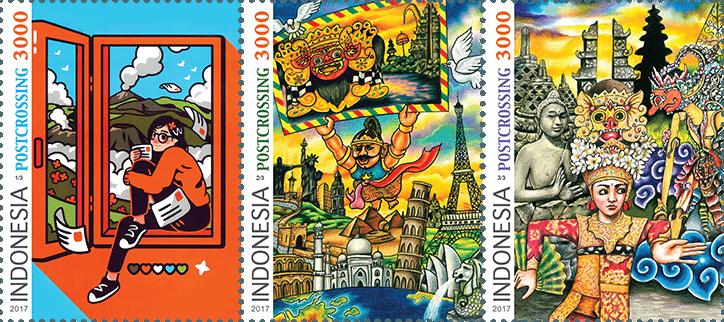 L'Indonesia festeggia il Postcrossing