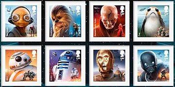 Alla Royal Mail l'impero di Star Wars colpisce ancora