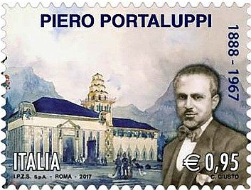 Un francobollo per Piero Portaluppi