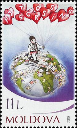 Postcrossing: la Moldavia ha il suo francobollo