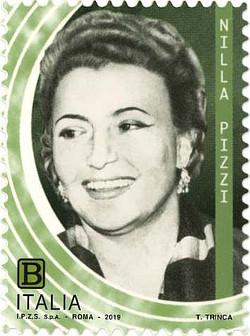 La posta celebra Nilla Pizzi