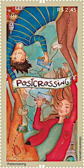 Postcrossing: emesso il francobollo del Brasile