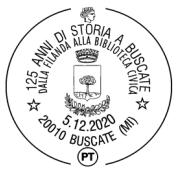 125 anni della Filanda di Buscate, annullo speciale e cartolina a scopo benefico