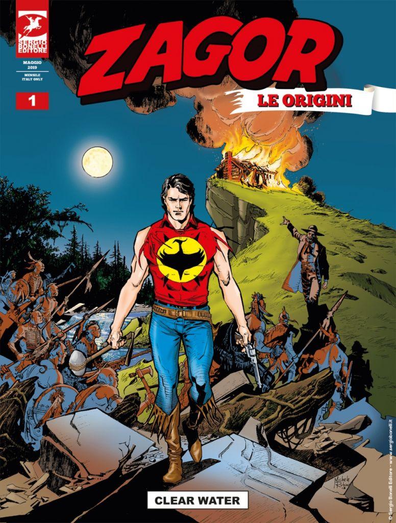 Bonelli Editore, a maggio arriva la nuova serie dedicata a Zagor