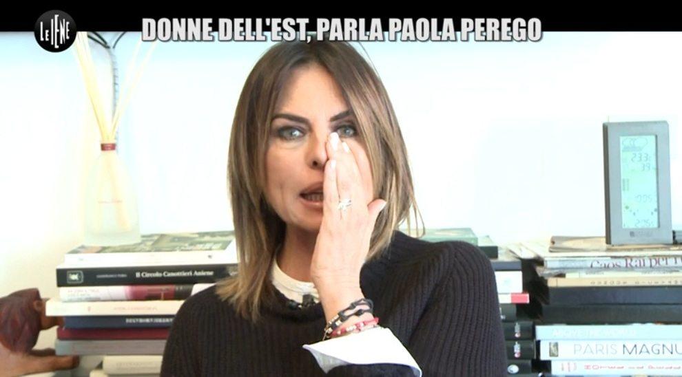"""Paola Perego in lacrime a Le Iene: """"Mi hanno messa in mezzo, sono spaventata"""" -Guarda"""