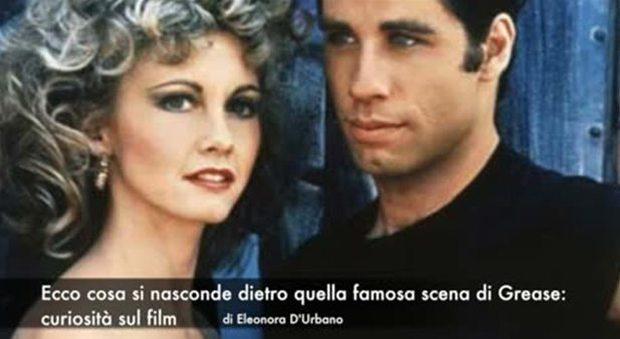 Grease, ecco cosa si nasconde dietro quella famosa scena con John Travolta e Olivia Newton-John...