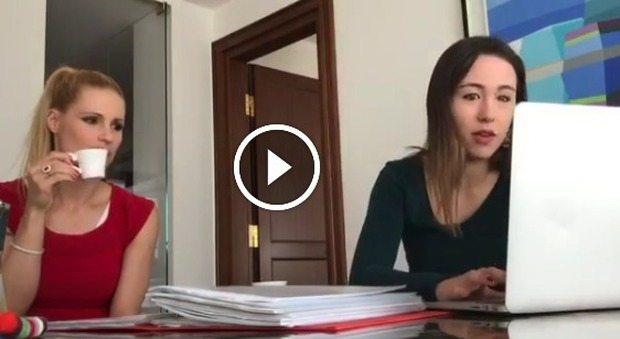 """Michelle Hunziker, video con Aurora Ramazzotti: """"Gli stiamo addosso per studiare (di brutto) poi..."""""""