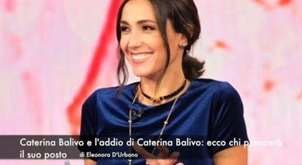 Caterina Balivo, addio a Detto Fatto: ecco chi prenderà il suo posto