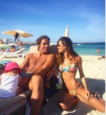 Federica Nargi e Alessandro Matri, genitori super tra vacanze a Formentera, lavoro e... tatuaggi
