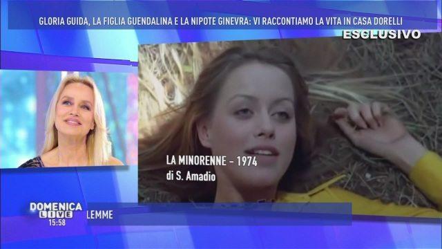 Gloria Guida, icona anni ?70: la sua vita è un film a Domenica Live!
