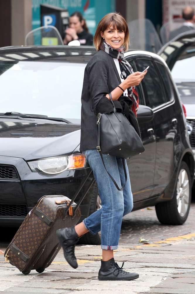 Cristina Chiabotto, prima la fuga romantica poi a Milano con la valigia