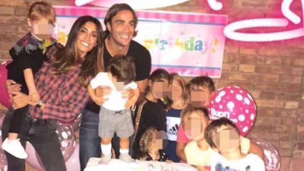 Federica Nargi e Alessandro Matri, guarda la festa per il compleanno di Sofia