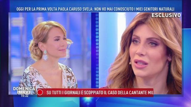 """Paola Caruso, confessione shock: """"Sono stata adottata e l'ho scoperto quando avevo 13 anni"""""""