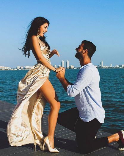 L'ex Miss Italia Clarissa Marchese sposerà Federico Gregucci, proposta di matrimonio a Miami