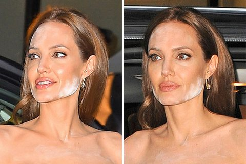 """Angelina Jolie """"Make up dell'orrore..."""""""