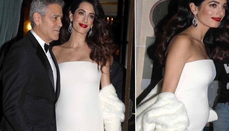 George Clooney papà, guarda dove Amal ha partorito i gemelli