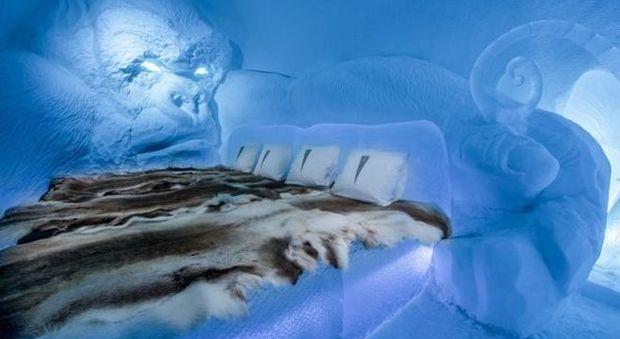 In Svezia, nel più grande hotel di ghiaccio del mondo