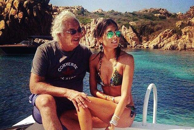 Flavio Briatore non può lasciare la moglie…. ecco perché