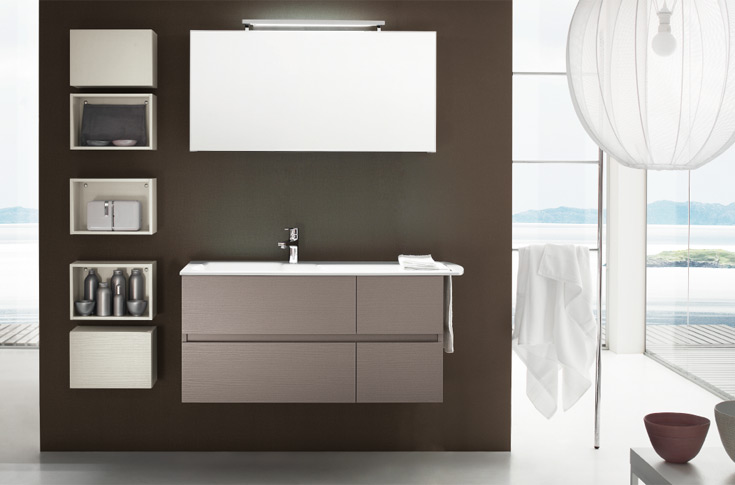 La stanza da bagno nuova icona dell 39 arredo for Icona arredamenti