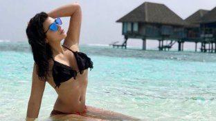 Giulia Salemi, guarda l'album delle vacanze alle Maldive