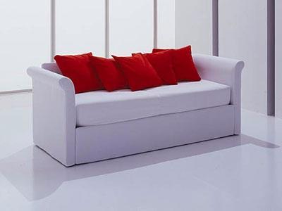Perla divano letto by bolzan offre molte soluzioni per - Divano letto cameretta ...