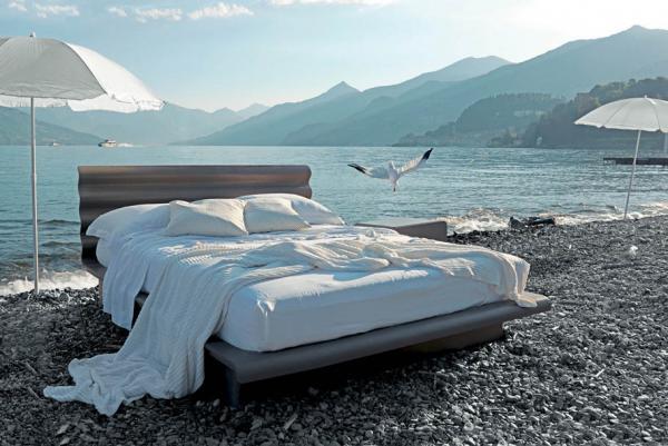 Da Fimar: PLISSE', il letto contenitore con l'effetto onda per un design dinamico ..