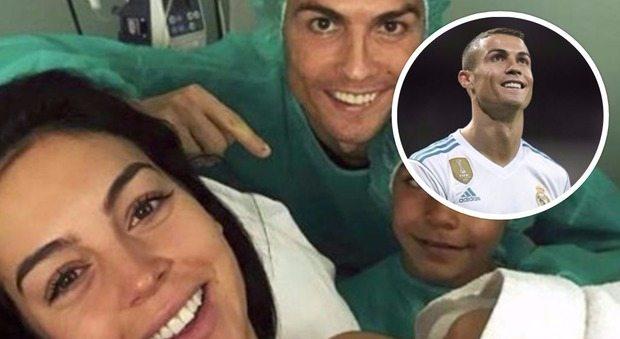 Cristiano Ronaldo di nuovo papà, è nata Alana Martina