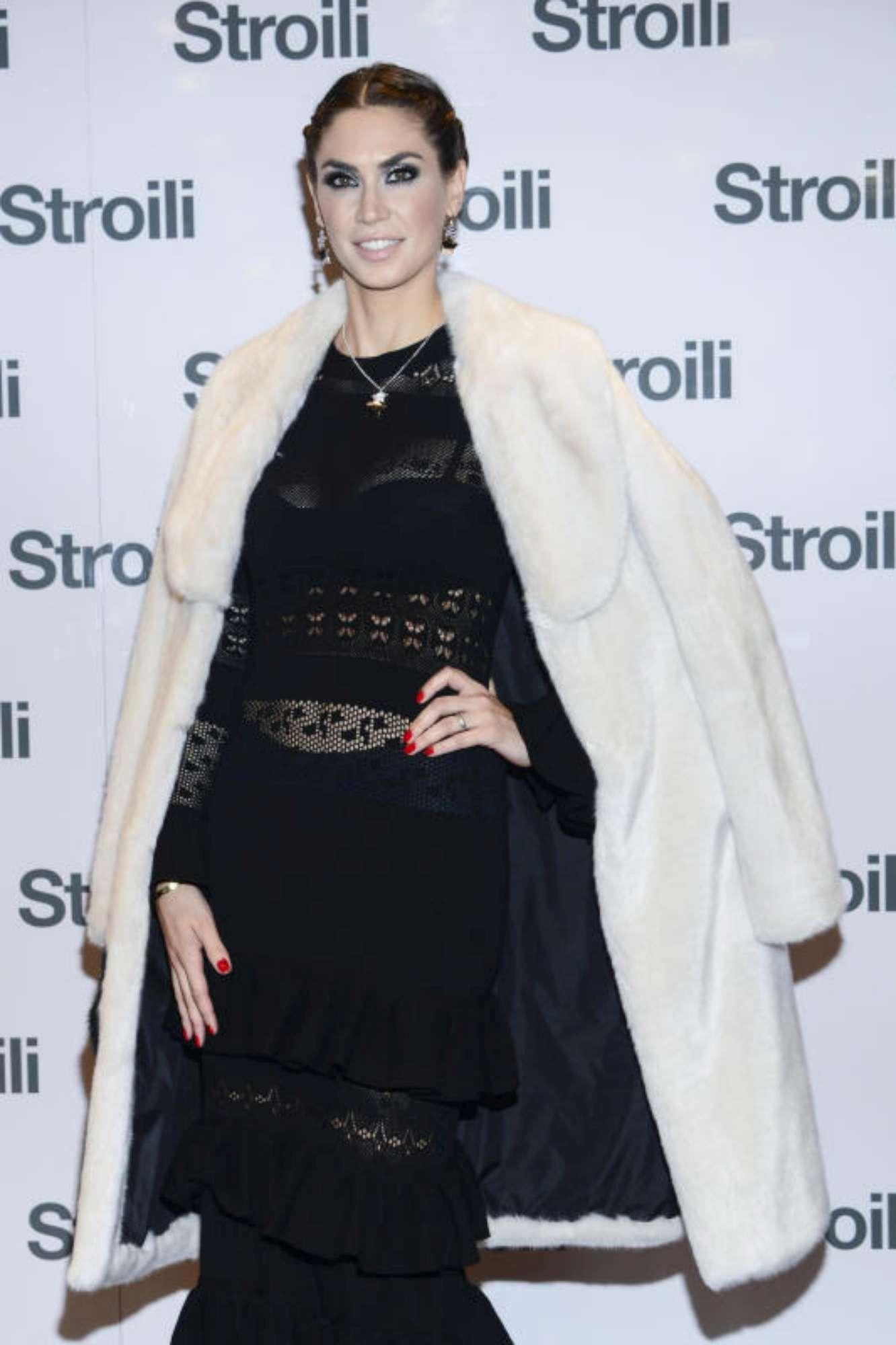 """Melissa Satta, madrina """"preziosa"""" nella notte milanese"""