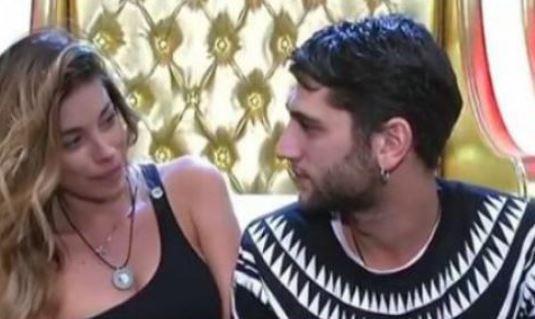 Jeremias Rodriguez e il bacio con Aida Yespica: