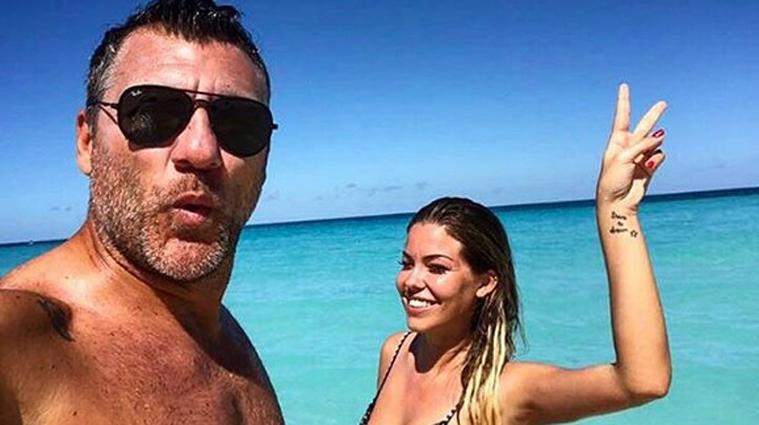 Bobo Vieri e Costanza Caracciolo, fuga d'amore alla Maldive: