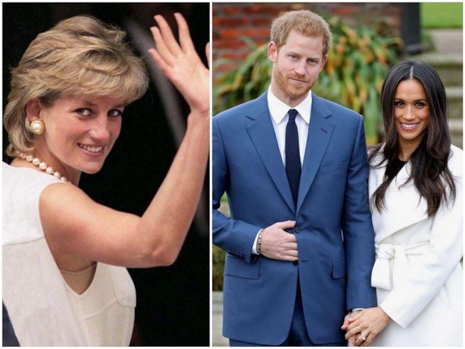 Royal wedding: per il ricevimento Meghan omaggia Diana con un anello speciale