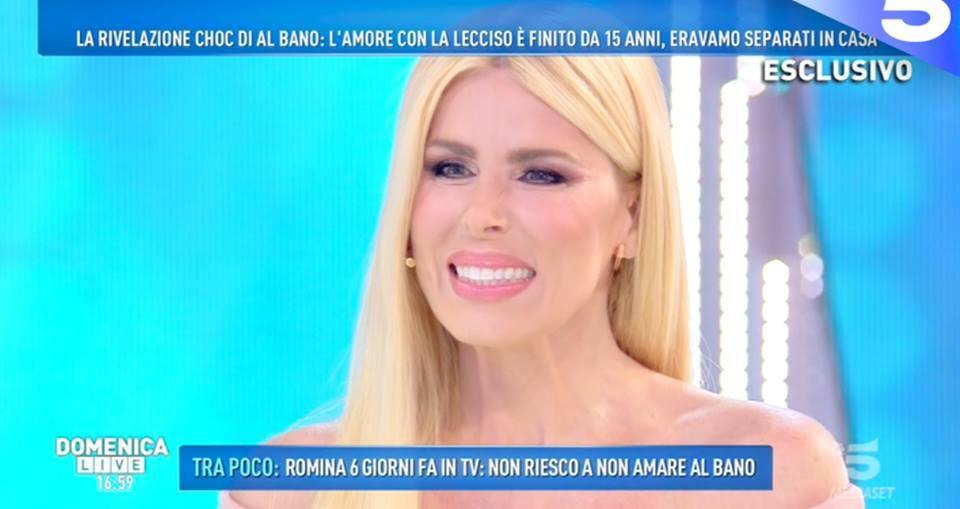 Loredana Lecciso alla D'Urso: «Barbara, voglio un confronto con Romina». La replica della conduttrice lascia di sasso