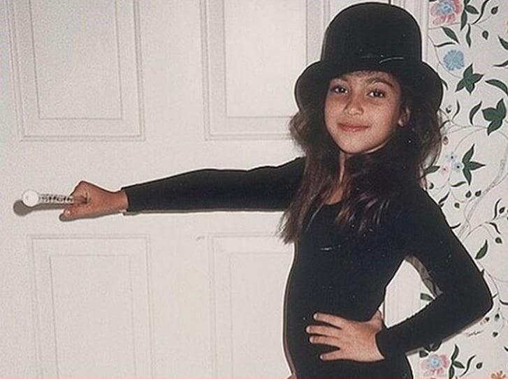 Kim Kardashian, la foto da bambina
