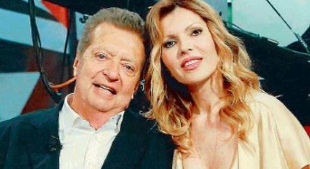 Rita Rusic con Vittorio Cecchi Gori a Domenica Live: «Ho pianto per lui quando è stato male»