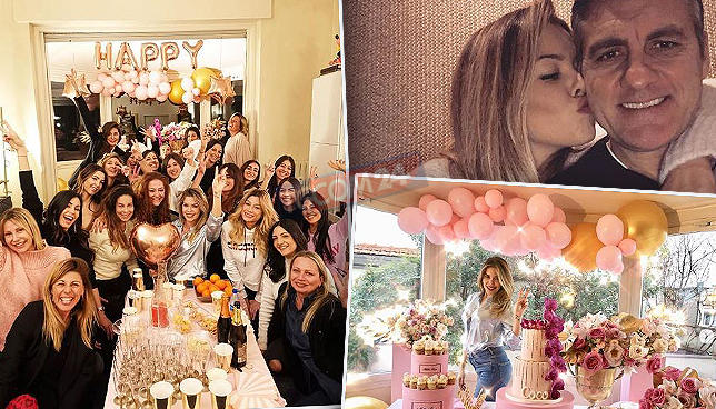 Costanza Caracciolo: guarda che festa di compleanno