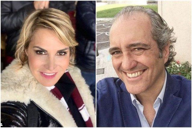 Simona Ventura innamorata, cena a casa del fidanzato Giovanni Terzi e