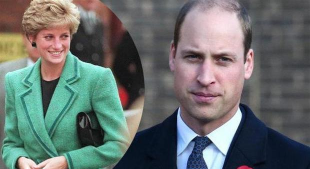 Il Principe William fortemente preoccupato, l'incontro segreto con la medium di Lady Diana